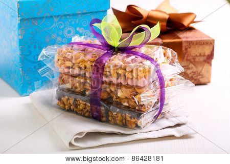 Puffed Rice Crispy Bars