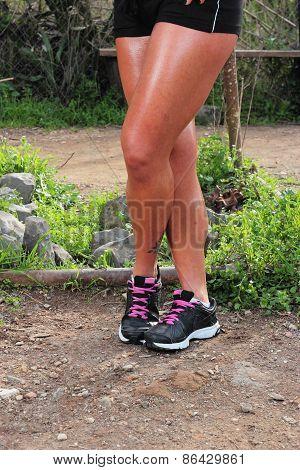 Female Sporty Legs