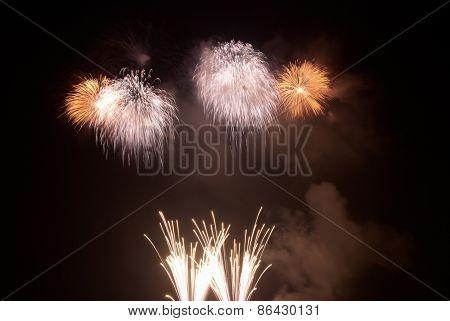 Salute, Fireworks