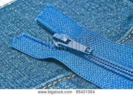 Denim With Zipper