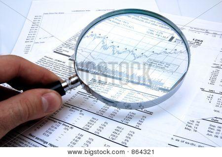 Examinando os preços das ações