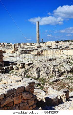 Roman ruins Kourion, Cyprus