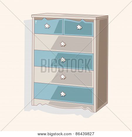 Furniture Cabinet Theme Elements