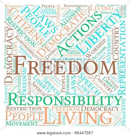 Freedom Word Cloud