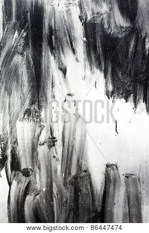 Creative Background Careless Brush Strokes Dark Paint, Abstract Textured Background With Flares And