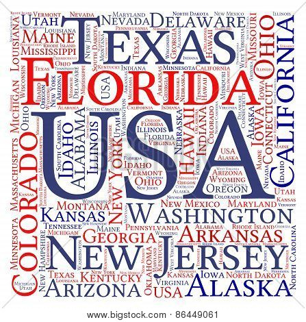 USA Word Cloud