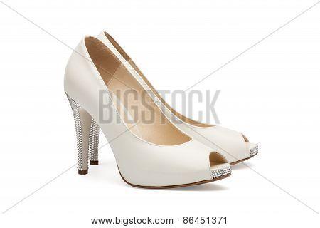 Ivory Female Wedding Footwear