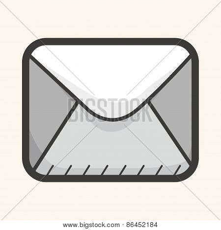 Computer Icon Mail Theme Elements