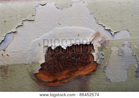 Cracked Rusty Iron