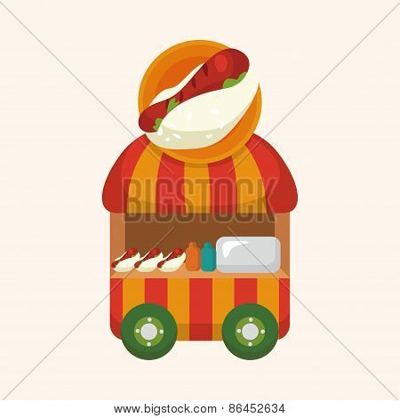 Style Dining Car Theme Elements