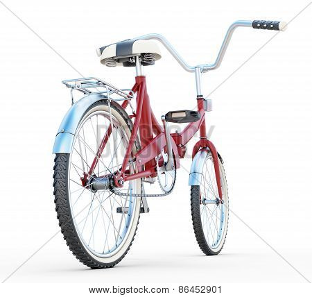 Bicycle Back View