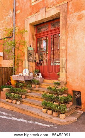 Shop Front In Provence