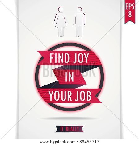 Find joy in your job