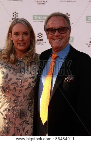 LOS ANGELES - MAR 26:  Peter Fonda at the 50th Anniversary Screening Of