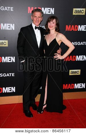 LOS ANGELES - MAR 25:  Christopher Stanley at the Mad Men Black & Red Gala at the Dorthy Chandler Pavillion on March 25, 2015 in Los Angeles, CA