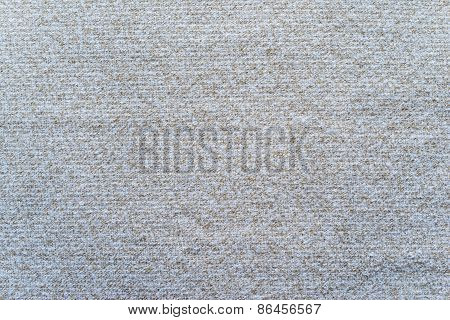Texture Felt Fabric Of Silvery Beige Color