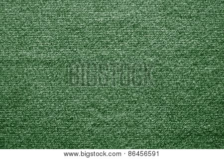 Textile Texture Felt Fabric Of Green Color