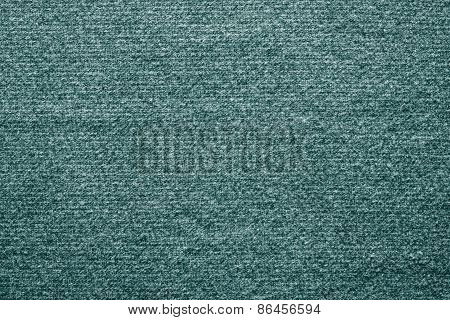 Texture Felt Fabric Of Green Blue Color