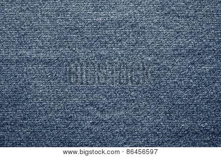 Textile Texture Felt Fabric Of Blue Color