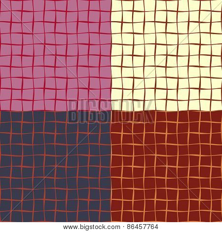 Seamless Patterns From A Set Of Squares