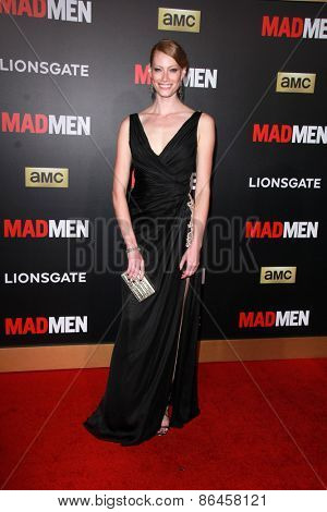 LOS ANGELES - MAR 25:  Alyssa Sutherland at the Mad Men Black & Red Gala at the Dorthy Chandler Pavillion on March 25, 2015 in Los Angeles, CA