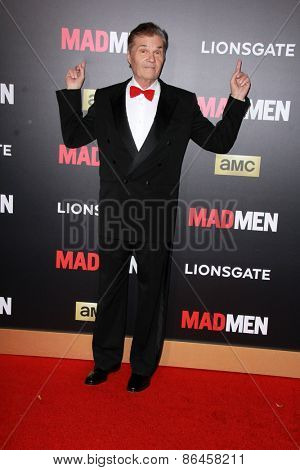 LOS ANGELES - MAR 25:  Fred Willard at the Mad Men Black & Red Gala at the Dorthy Chandler Pavillion on March 25, 2015 in Los Angeles, CA
