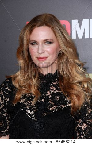 LOS ANGELES - MAR 25:  Anne Dudek at the Mad Men Black & Red Gala at the Dorthy Chandler Pavillion on March 25, 2015 in Los Angeles, CA