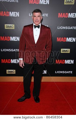 LOS ANGELES - MAR 25:  Bryan Batt at the Mad Men Black & Red Gala at the Dorthy Chandler Pavillion on March 25, 2015 in Los Angeles, CA