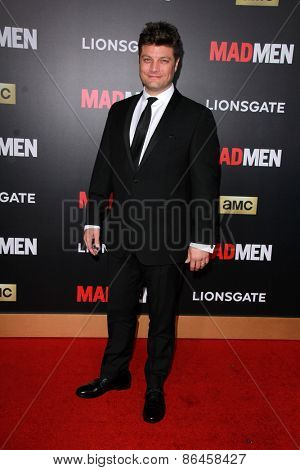 LOS ANGELES - MAR 25:  Jay R. Ferguson at the Mad Men Black & Red Gala at the Dorthy Chandler Pavillion on March 25, 2015 in Los Angeles, CA