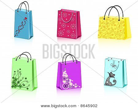 Six Shopping Bags