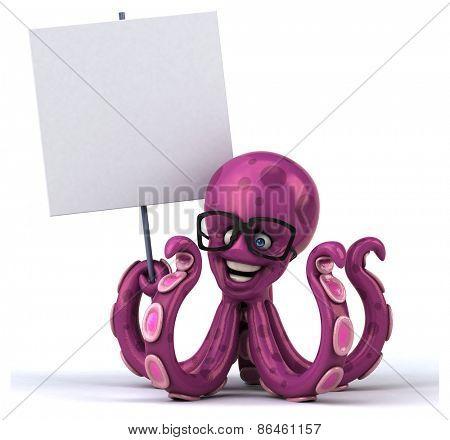 Fun octopus