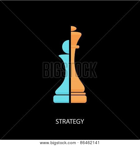 Strategy Chess Icon