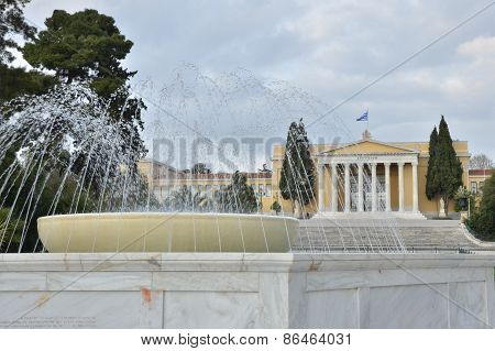 Fountain and Zappeion