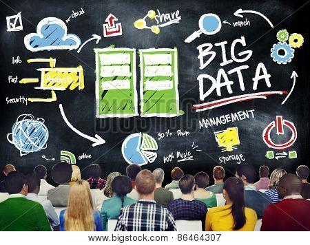 Diversity People Big Data Seminar Conference Presentation Concept