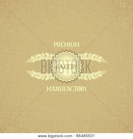 Background template for bakery