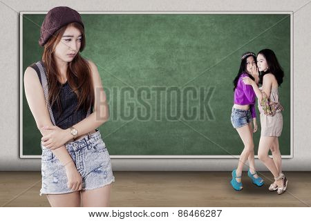 Sad Girl Mocked By Her Friends