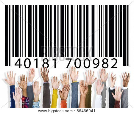 Barcode Identity Marketing Concept
