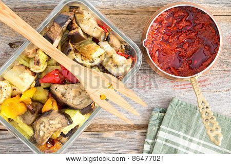Healthy Roast Turkish Style Vegetables