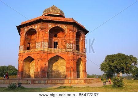 Humayuns Private Library, Purana Qila, New Delhi, India