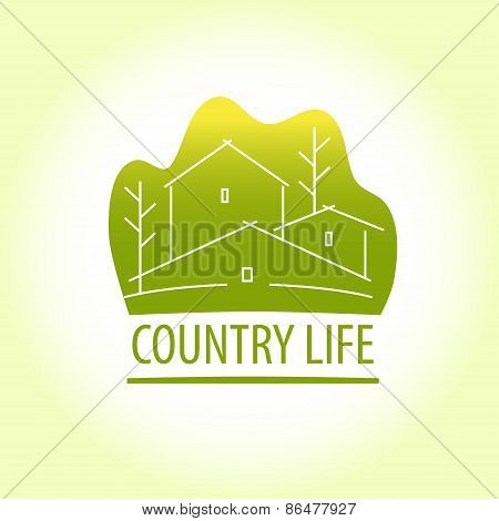 Country life. Properti logo