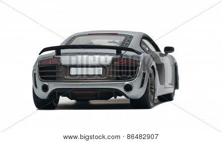 Model Silver Car Audi
