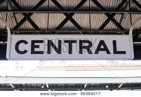 Central Station In Sidney