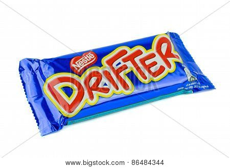 A Nestles Drifter chocolate bar