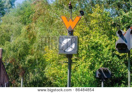 Old Railway Signal.