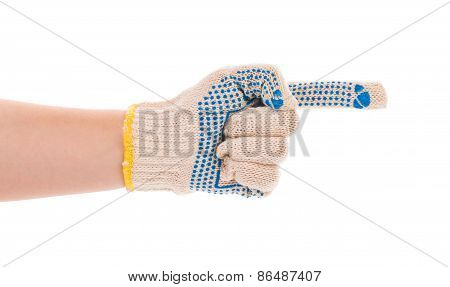 Thin work glove