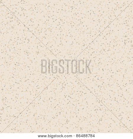 Star background card. Scattered tiny stars with texture. Vector backdrop.