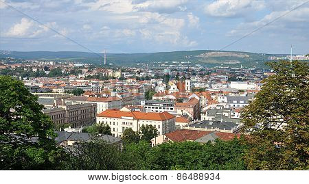 the city of Brno, Czech Republic, Europe