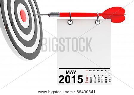 Calendar May 2015 With Target