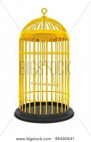 Golden Birdcage Cage