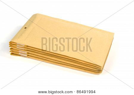 Medium Size Bubble Lined Shipping Or Packing Envelopes